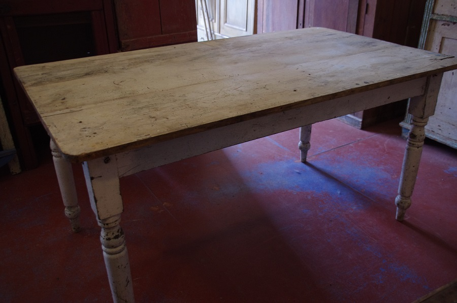 Victorian Rustic Kitchen Table Stalking Cat Antiques